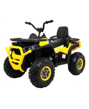 Elektrická štvorkolka ATV Desert žltá